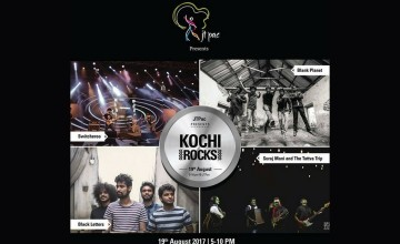 JTPac Presents Kochi Rocks Edition 3 - Live Music