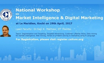 National Workshop on Market Intelligence and Digital Marketing