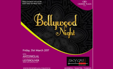 Bollywood Night by Crowne Plaza