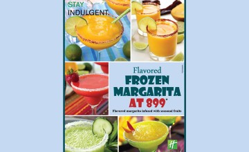 Flavored Frozen Margarita