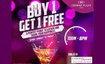 Buy 1 Get 1 Free by Crowne Plaza