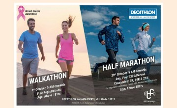 Walkathon And Half Marathon By Decathlon