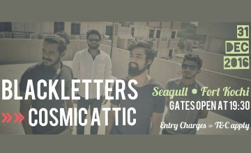 New Year blast @ Seagull with Blackletters