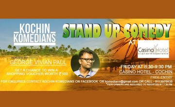 Kochin Komedians Standup Comedy at Casino