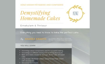Baking Work: 'Demystifying Homemade Cakes'