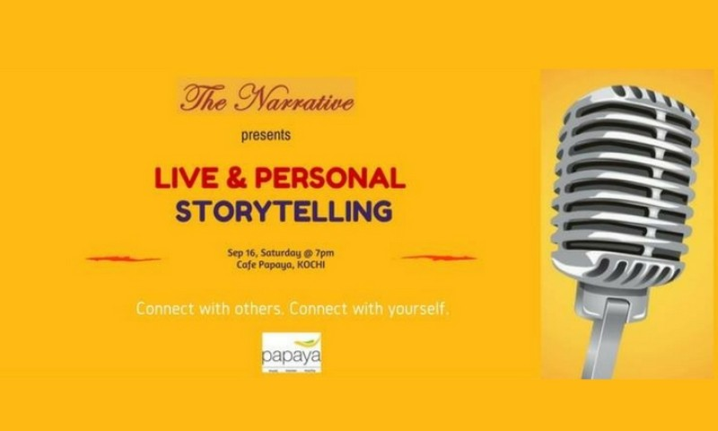 Live & Personal Storytelling