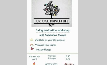 Purpose Driven Life - Meditation Workshop