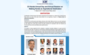 CII Kerala Annual Day and Annual Session on Making Kerala an Aspirational Destination
