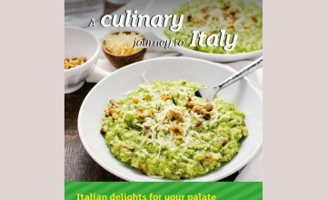 A Culinary Journey To Italy