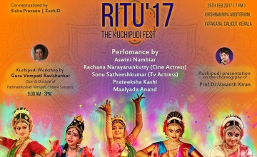 Ritu'17 The Kuchipudi Fest
