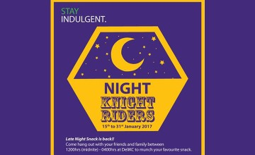 Night Knight Riders - Food Fest