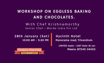 Workshop on Eggless Baking and Chocolates