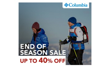 Columbia Season Sale