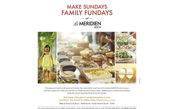 Sunday Family Brunch at Le Meridien