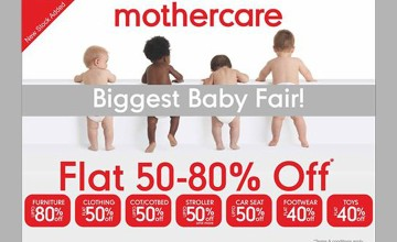 Biggest Baby Fair by Mothercare