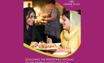 Arabian Nights at Crowne Plaza