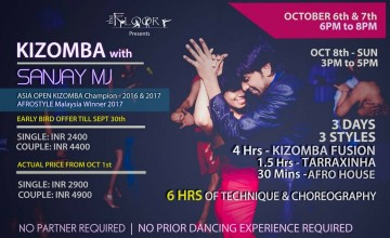 Kizomba With Sanjay Mj In Cochin