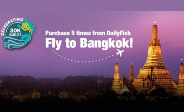 Daily Fish Offer- Fly to Bangkok