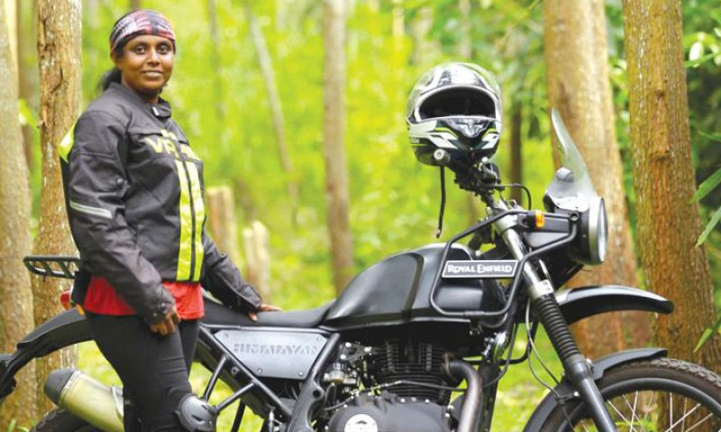 The Wonder Woman on Wheels from Kerala