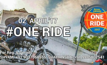 One Ride April'17 - Royal Enfield Ride