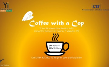 Yi Kochi Coffee with a Cop - Interactive Session with Inspector General of Police