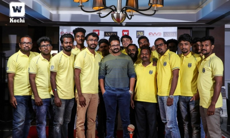Manjappada honoured by FWD Life along with actor Jayasurya and director Ranjith Sankar