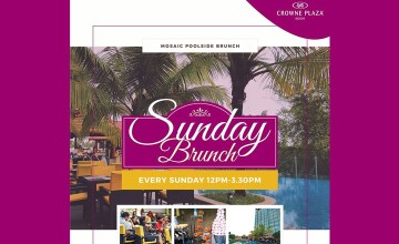 Sunday Brunch by Crowne Plaza