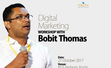 Digital Marketing Workshop With Bobit Thomas