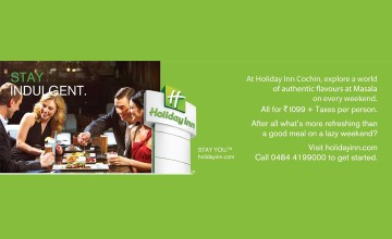 Stay Indulgent-Food fest @ Holiday Inn