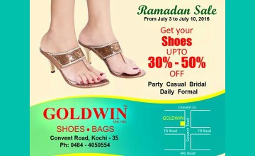 Ramadan Sale At Goldwin Shoes