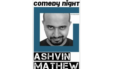 Comedy Night at The Muse Room with Ashvin Mathew