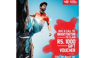 Gift Vouchers At Flying Machine