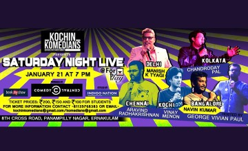 Kochin Komedians presents Saturday Night Live
