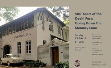 500 Years of the Kochi Fort: Going Down the Memory Lane