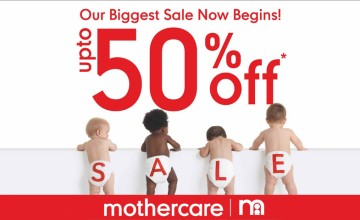 Upto 50% Off at Mothercare, Lulu Mall