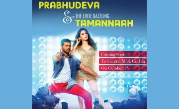 Meet Prabhudeva and Tamannaah in Kochi!