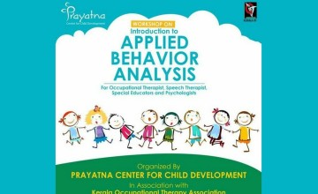 Workshop on Introduction to Applied Behaviour Analysis (ABA)