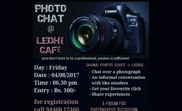 Photo Chat at Ledhi Cafe