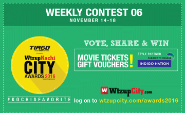 Win Movie Tickets Every Week With Kochi's Favorites