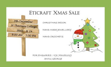 Eticraft X'Mas Sale