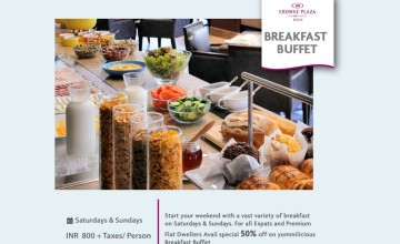 Breakfast Buffet By Crowne Plaza Kochi