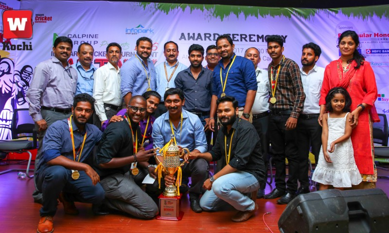 A Look At The Delightful Infopark Cricket Tournament 2016 Award Ceremony