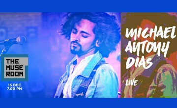 The Muse Room Presents Michael Antony Dias Live