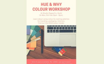 HUE & WHY COLOUR WORKSHOP