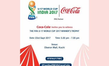 The FIFA U-17 World Cup Winners Trophy Tour