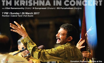 TM Krishna in Concert