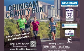 Chingam Charity Run By  Decathlon