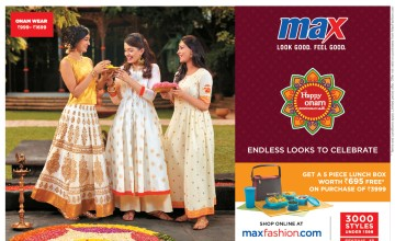 Max Fashion Onam Offer