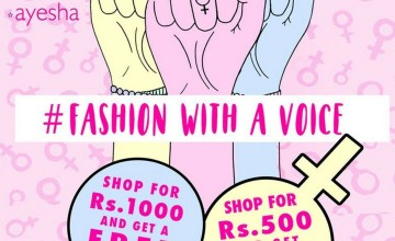 Ayesha Fashion with a Voice