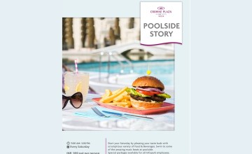 Poolside Story At Crowne Plaza Kochi